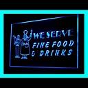 Fine Food Cafe Advertising LED Light Sign