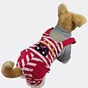 Cotton Striped Overalls Trousers  for Dogs Pets