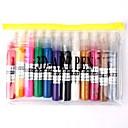 12 piezas uñas Kits 3D Art Art Pen polacos