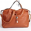 Womens First Layer Genuine Leather Cohide Messenger Handbags Big Large Bags
