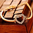 Lucky Doll Womens Diamond Love Bracelet