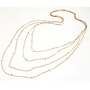 Kushang Pearl Korean All Matching Sweater Necklace(Screen Color)