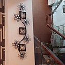 Metal Wall Art Iron Wall Decor Romantic Fancy Photo Frame Wall Decor