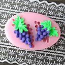 Grape Baking Fondant Cake Mold,L7.3cmW5mH1.4cm