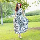 Womens 2014 New Bohemia Long Chiffon Dress