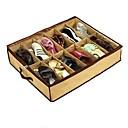 """22.5 """"x26.5"""", 57x67.3 (cm) caja de almacenamiento de bambú organizar para 12 cajas de zapatos de almacenamiento"""