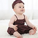 GirlS Jumpsuits Cute Strap Dress  Headgear Clothing Sets