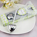 """Tea Time"" Stainless Steel Heart Tea Infuser Wedding Favor thumbnail"