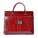 Barberni Cocodrilo vintage bolsa (rojo)