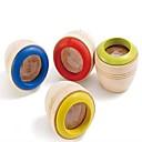 Juguete caleidoscopio ojo 1pcs abeja de madera para los niños (color al azar)