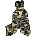 Overalls  in Camouflage Style   for Pet Dog