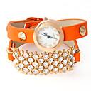 Dare U Womens Voluble PU Leather Adjustable Watch