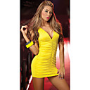 Süße Frauen Strap Solid Color, figurbetontes Kleid