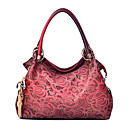 Medanly Womens New Style Fashion Vintage Lasr Cut Out Embroider Single-shoulder Auspicious Cloud Single-shoulder Handbag
