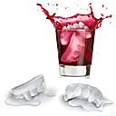 Vampire Ice Mould Silicone Ice  Mold Random Color (7.8X4.4X1.2 inch)