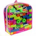 bloques de construcción 50 mochila en caja (color al azar)
