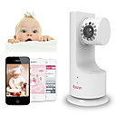 Cámara IP Wireless Home Red WiFi de seguridad para bebés, mascotas, Oficina con P2P, reproducción de música, de dos vías Talk - IBCAM