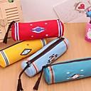 bolsos bolsos de la pluma del arte indio cilindro lienzo costumbres paño papelería