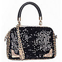Mandanly Women's All Match Paillette Shinning One Shoulder Bag