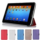 Slim Folding Hard Shell Stand Leather Case Cover for Lenovo A5500 A8 8 Tablet