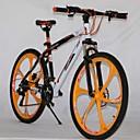 """Shenyan ™ 21 velocidades 26 """"bicicleta de montaña 6 radios de la rueda doble bicicleta freno de disco"""