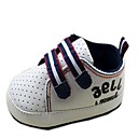 Leather Boys Flat Heel First Walker Fashion Sneakers with Magic Tape Shoes
