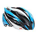 Souke pc  eps azul moldeada integralmente bicicleta de montaña bicicleta de carretera casco de ciclo de los hombres (59-64cm)