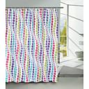 círculo continuo patrón de cortina de ducha