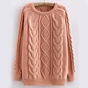 Womens Pullover Cable Knit Sweaters