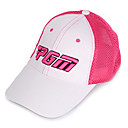 pgm malla rosa  sunproof blanco sombrero del golf transpirable