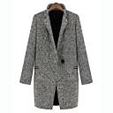 abrigo de lana chaqueta Lirong