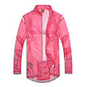 Anti UV impermeable ultrafina respirable Escudo viento Santic Mujer al aire libre (color de rosa)