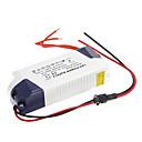 0.3a 19-24w dc 50-90v al conductor constante externa ac 85-265v actual fuente de alimentación para la lámpara del panel llevada
