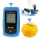 nueva profundidad buscador de los pescados portátil inalámbrico de alarma sirena sonar localizador transductor minorista boxeo