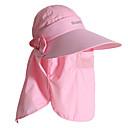 nylon de las mujeres pgm  transpirable malla rosa claro sunproof anti-uv sombrero golf