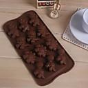 12 hoyos moldes de chocolate torta de la forma de dinosaurio jalea de hielo, silicón 21.4 × 10.8 × 1.5 (8.4 × 4.3 × 0.6 pulgadas)