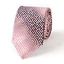 7 cm de ancho corbata de seda multicolor