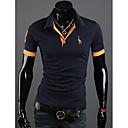 Nono Men Deerlet Embroidery Short Sleeve T-Shirt