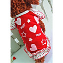 Pet Fashion Cute Heart Shaped Star Vest  for Pets Dogs (Assorted Colors,Sizes)