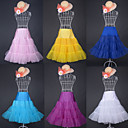 Candy Color Organza/Lycra/Spandex Colorful Petticoat(More Colors)