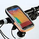 ciclismo pvc poliéster con el móvil del bolso del teléfono de pantalla táctil de 4,8 pulgadas soporte