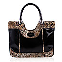 YiFaLanNi Fashion Elegant Splicing Color Light Brown Shoulder Bag