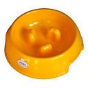 (100-150 g) de resina ambiental el cuenco estrangulador para mascotas perros (colores surtidos)