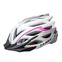 INBIKE unisex 28 rejillas blancas y rosadas de la PC  EPS mtb integralmente moldeados en bicicleta casco con luz (57-62cm)