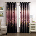 (Two Panels) Dreamlike Country Blossoms Blackout Curtain