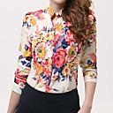 Womens New Fashion Korean Style Print  Shirt