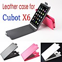 Protective Leather Flip Case Cover for Cubot X6 Smartphone Phone Caes 3-color
