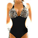 Womens Leopard one-Pieces