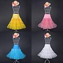 Summer Time 3 Tiers Organza Half Slip Sweet Lolita Petticoat (Skirt Length:65cm Waist:70-100cm)