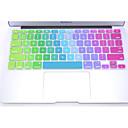 """coosbo colorido teclado de silicona de la piel cubierta de protección para 11 """", 13"""", 15 """", 17"""" mac macbook pro retina aire"""
